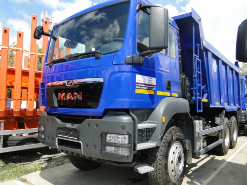 Самосвал MAN TGS 40.400 6x4 BB-WW